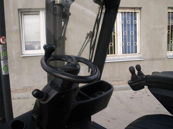 wózek widłowy kabina