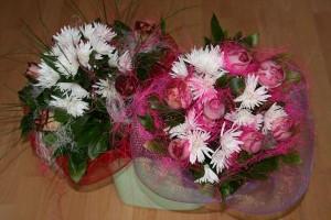 kompozycja z kwiaciarni w Żaganiu