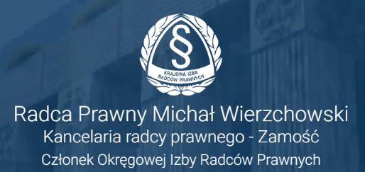 Radca Prawny Michał Wierzchowski