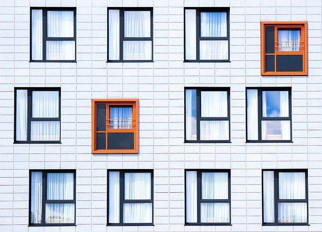 Ściana z oknami Okno Świat